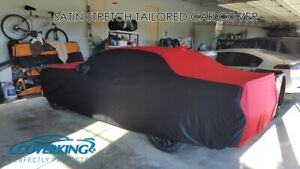 Premium Satin Stretch Indoor Custom Tailored Car Cover For Dodge Challenger