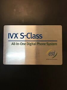 Esi Ivx S class Digital Phone System 2 Cards 14 Phones