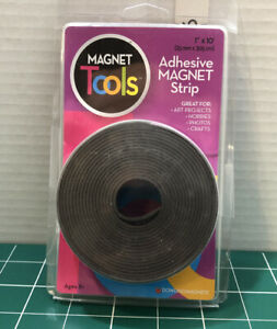 Adhesive Magnet Strip 1in X 10ft