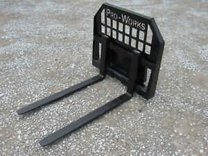 42 2 200 Pound Pallet Forks For Toro Dingo Ditch Witch Vermeer Mini Skid Steer