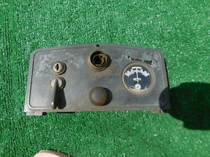1922 1923 Auburn Velie Oakland Dash Cluster With Ignition Light Switch Amp