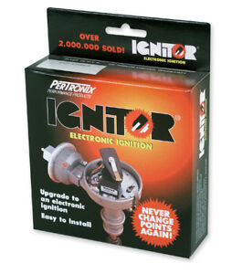 Pertronix Ignitor With Ford Mercury Flat Head 6 Volt Pos Grd 1283p6 1949 53