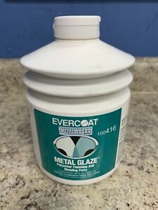 Evercoat 416 Metal Glaze Polyester Auto Body Finishing Blending Putty 30 Fl Oz