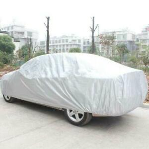 Waterproof Outdoor Car Cover Snow Dust Resistant Protection Xl Fits Sedan