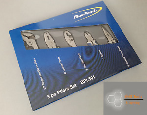 Blue Point 5pc Pliers Cutter Set Bpl501 Inc Vat New As Sold By Snap On