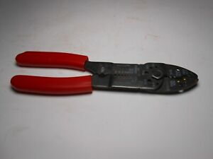 Ign Wire Terminal Crimper And Wire Stripping Tool