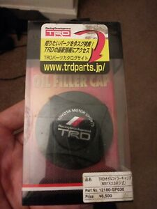 Trd Toyota Jdm Oil Filler Cap Rare Vintage Racing Development Motor Sports Cover
