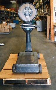 Toledo Scale Company Model 31 1821 fc 1600lb Capacity Vintage Agriculture Scale