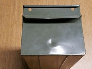 Industrial Equipto Metal Drawer 5 1 2 X 5 X 11 Green Pull Out Cabinet Drawer