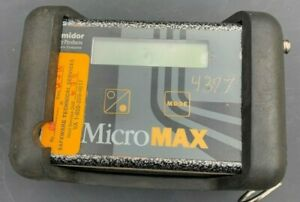 Lumidor Micromax Gas Detector Model Max 4ap With Case