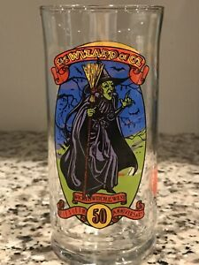 Wizard of Oz Coca-Cola 50th Anniversary Glass - 1989 - Wicked Witch of the West