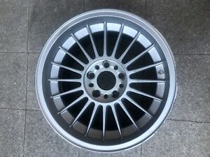 1x Oem Alpina 10x17 Et28 Classic Bmw Alloy Wheels 5x120