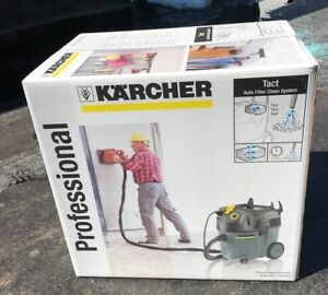 Karcher Vacuum Nt 35 1 Tact Te With Self Cleaning Filter