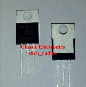 Palomar Ekl Erf2030 Mosfet Rf Power Transistor Sub For Irf520 fqp13n10 Others
