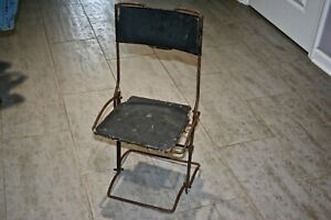 Rare Vintage Buffington Auto Folding Chair 1912