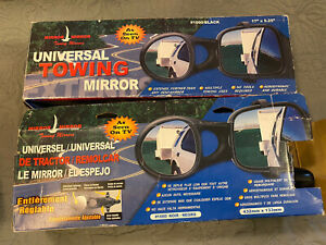 Universal Trailer Towing Side Mirror Adjustable Truck Suv Rv