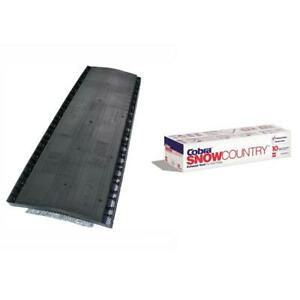 Gaf Roof Attic Exhaust Vent Shingle Over Venting Black 13 3 4 X 48 10 Per Case