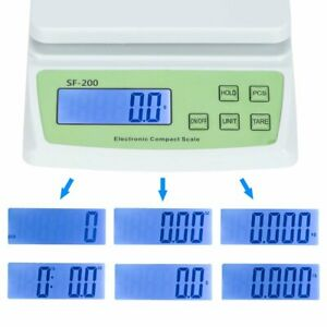 22lb X 0 01oz Postal Scale Digital Lcd Shipping Mail Packages Weigh 10kg 0 5g