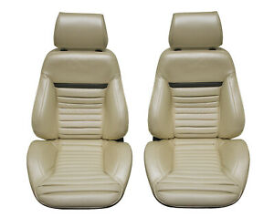 Mach 1 Touring Ii Fully Assembled Seats 1970 Mustang Your Choice Of Color