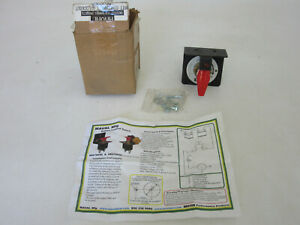 Maval 250 Amp Battery Disconnect Switch With Lockout 8070050