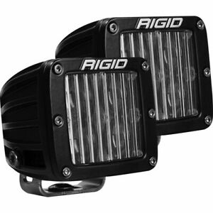 Rigid 504813 In Stock D Series Dot Sae Fog Light Pair