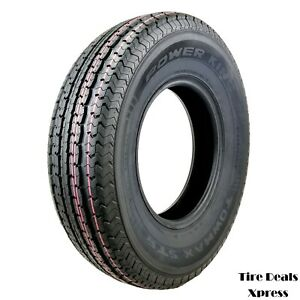 2 two New St235 80r16 Power King Towmax Strii Trailer Tires 2358016 max24t
