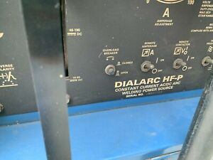 Miller Dialarc Hf p Ac dc Constant Current Arc Welding Power Source