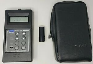 F w Bell 4048 Gauss tesla Meter With zero Gauss Chamber And Soft Case