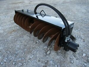 Mccullough 1600 Trench Cover Up Filler Attachment Fits Toro Mini Skid Steer