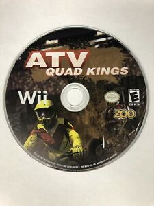 ATV: Quad Kings (Nintendo Wii  2009) Game Disk Only