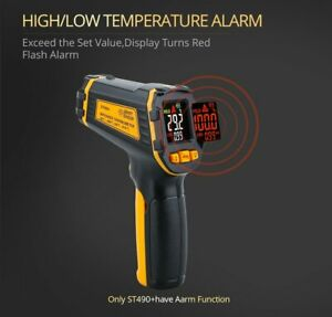 Temp Meter Temperature Gun Non contact Digital Laser Ir Infrared Thermometer New