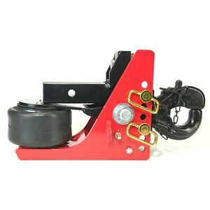 Shocker Air Pintle Hitch Adjustable Military Style Hitch