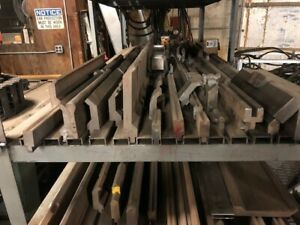 Approximately 7000lbs American Style Press Brake Tooling