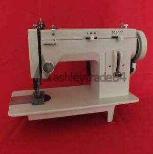 110v 7 Arm Fur Leather Fell Clothes Thicken Sewing Machine Zigzag Stitch New
