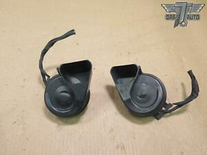 07 12 Mercedes X164 Gl class Set Of 2 High Low Tone Pitch Horn Signal Oem