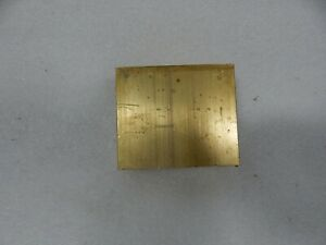 1 X 3 C360 Brass Flat Bar 2 3 4 Long Solid Plate Mill Stock 1 0 x 3 0 x 2 75