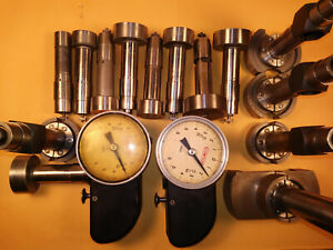 Comptor Gage P2 Set Assorted Lot With Probe Set Inspection Bore Gage