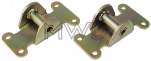 Small Block Chevy Solid Steel Motor Mount Frame chassis Pads