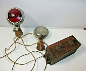 Antique Ford Model T Car Ignition Coil Old Car Auto Stop Tail Lights Rat Rod