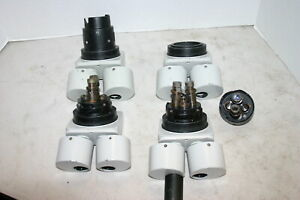 Omano Dissecting Microscope 10 30x Parts repair Lot Of 4 1