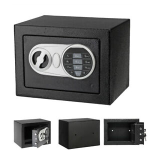 Digital Electronic Safe Box Cash Money Jewelry Deposit Home Office With Key