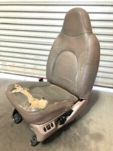 99 01 Ford F350 Super Duty Used Lh Left Drivers Leather Lariat Power Seat Torn