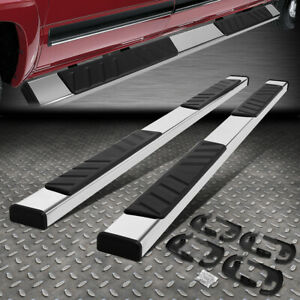 For 04 14 Ford F 150 Crew Cab 5 od Flat Board Side Step Nerf Bar Running Boards
