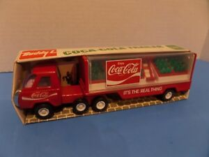 BUDDY L COCA - COLA TRUCK TRAILER YEAR 1976