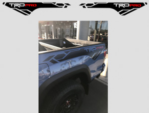 Toyota Tacoma Trd Pro Bedside Graphics 2016 2020 Side Vinyl Decals Stickers X2