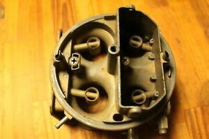 Holley List 6210 3 3346 4 Barrel Double Pumper Main Body Only