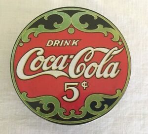 Coca-Cola Coasters in a Tin -