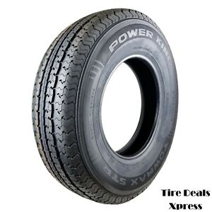 2 two New St235 80r16 Power King Towmax Strii Trailer Tires 2358016 max25t