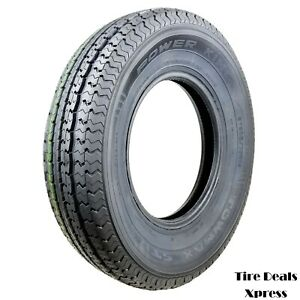 2 two New St205 75r14 Power King Towmax Strii Trailer Tires 2057514 max37t