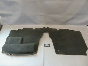 1994 1997 Mazda Miata Rear Firewall Bulkhead Seat Carpet Black Plush Cut Pile 4